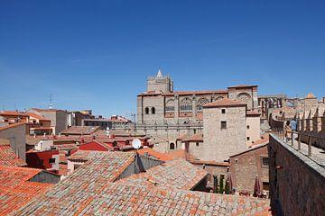 Kathedrale, Stadtmauer, Altstadt, Avila, spanien