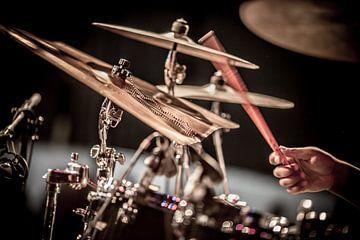 Ode aan drummers van Margriet Cloudt