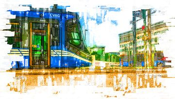 Tram Chemnitz van Johnny Flash