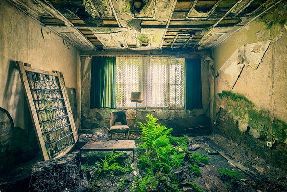 Hotel to the green bed van Michael Schwan
