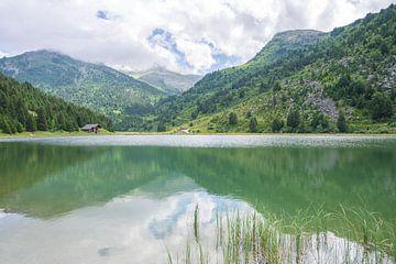 Lac Tueda in der Nähe von Méribel in Frankreich.