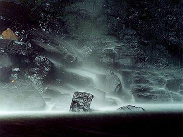 Penrhyd Waterfall van Patrick vdf. van der Heijden