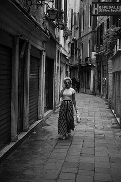 Schwarz-Weiß-Foto Marilyn Monroe von Bram van den Broek