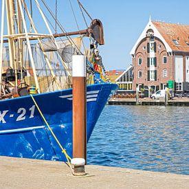 Haven van Oudeschild op Texel / Harbour of Oudeschild on Texel von Justin Sinner Pictures ( Fotograaf op Texel)
