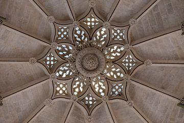 Plafond van de Kathedraal van Burgos in Spanje van Maarten Hoek