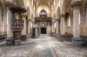 Alte verlassene Kirche.