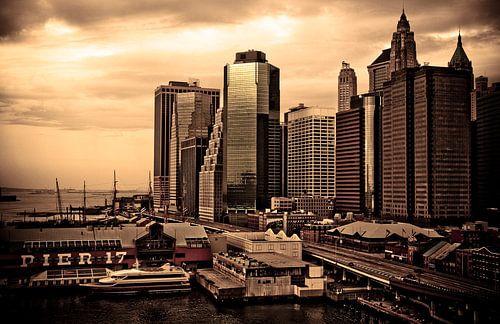Pier 17 - NYC van
