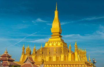 Vientiane - That Luang Stupa van Theo Molenaar