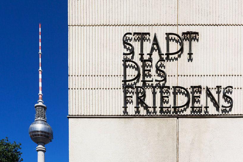 Ville de la paix - Berlin sur Frank Herrmann