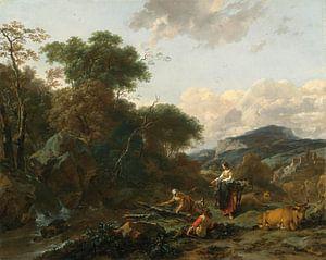 Landscape with Figure, Nicolaes Berchem
