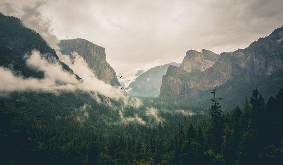 Famous Tunnel View, Yosemite