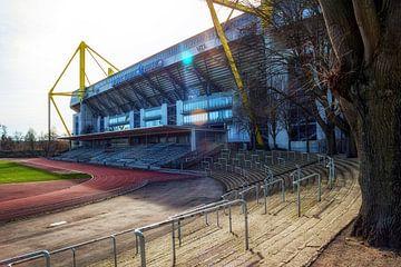 Stadion Rote Erde en Signal Iduna Park, Borussia Dortmund van Martijn Mureau