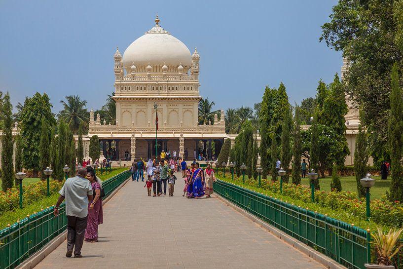 Gumbaz Mausoleum, Indien van Jan Schuler