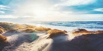 Sonnenuntergang an der dänischen Küste von Florian Kunde