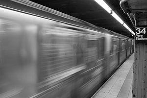 New York Subway van