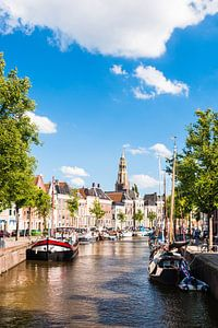 Hoge der A Groningen during Summer