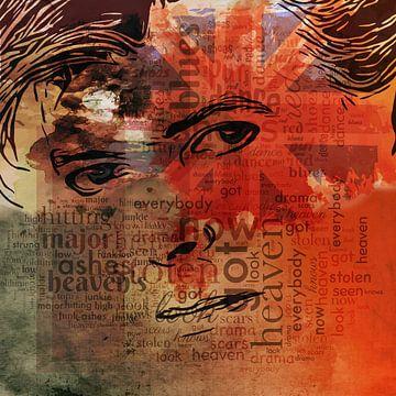 David Bowie. van Yolanda Bruggeman
