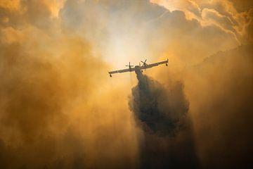 Incendie de forêt, Italie - 03 sur Jorn Wilms