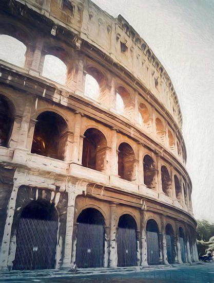Colosseum in Rome. van Joris Pannemans - Loris Photography