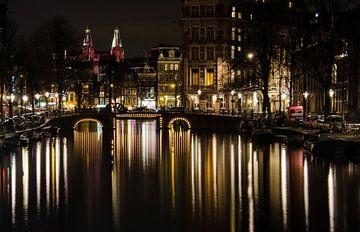 Amsterdam binnenstad von Roderick van de Berg