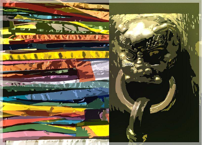 China fantasie van Wilfried van Dokkumburg