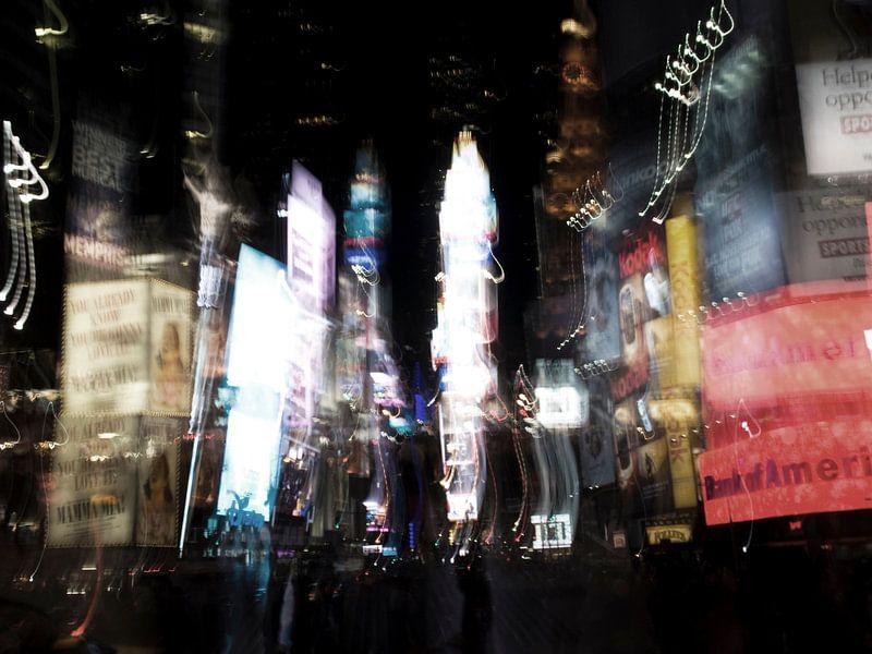 Times Square sur Hannie Bom