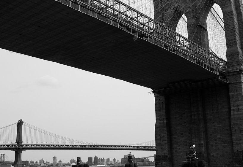 Brooklyn Bridge van Margo Smit