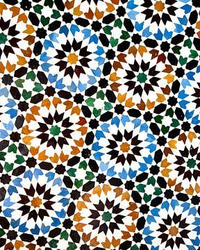 Marokkaanse tegel van Jaap Ros