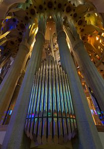 Prachtige Sagrada Familia Orgel van