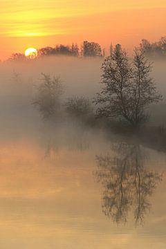 Ein herrlicher Sonnenaufgang von Bernhard Kaiser