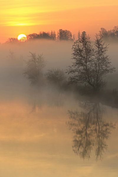 Een prachtige zonsopgang van Bernhard Kaiser
