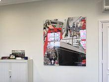 Klantfoto: Rotterdam van Jole Art (Annejole Jacobs - de Jongh), op acrylglas