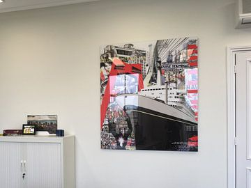 Klantfoto: Rotterdam van Jole Art (Annejole Jacobs - de Jongh)