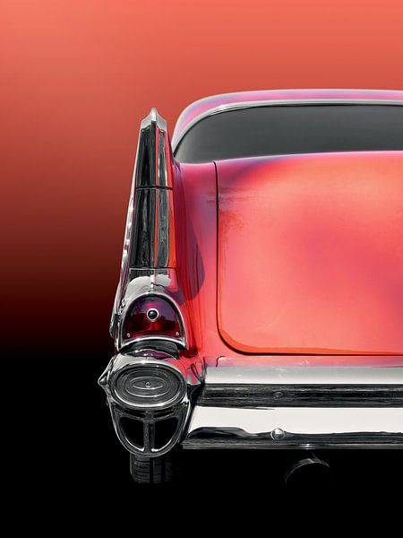US voiture classique américaine bel air 1957 sur Beate Gube