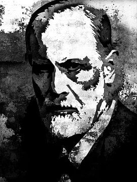 Sigmund Freud van Maarten Knops