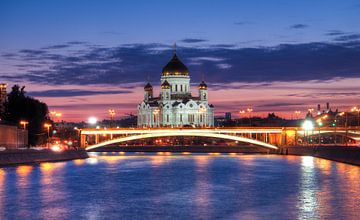 Moskou en de Christus Verlosserkathedraal van Atelier Liesjes