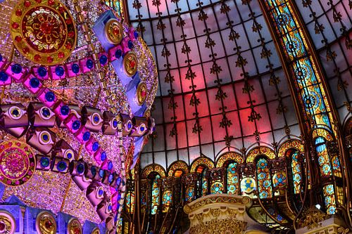 Galeries Lafayette Dak van Ronne Vinkx