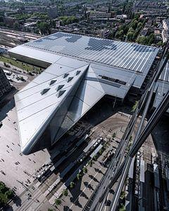 Rotterdam Centraal van boven