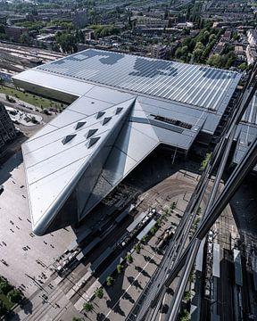 Rotterdam Centraal van boven van Jeroen van Dam
