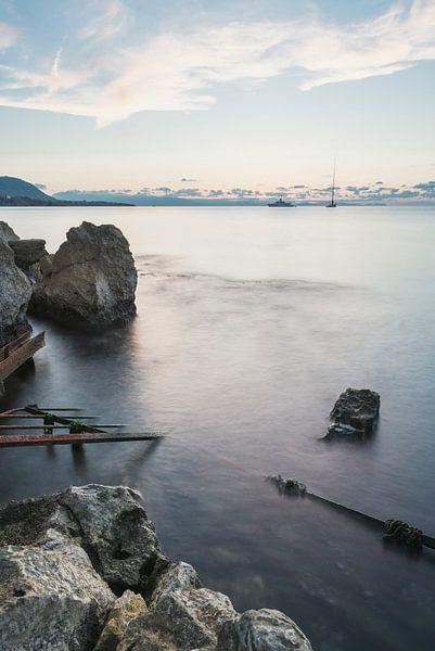 De zee van Sicilië van Perry Wiertz