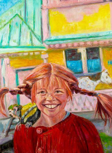 Schilderij Pippi Langkous