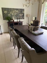 Kundenfoto: Blumen - Claude Monet, auf leinwand