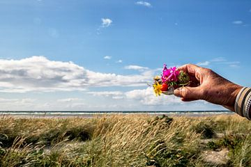 Bloemen Deense kust van Jan Sportel Photography