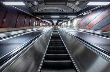 Metro Stockholm (Zweden) van Marcel Kerdijk