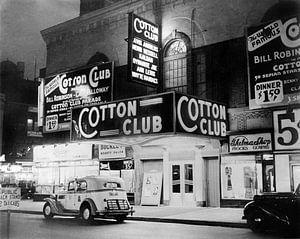 De Cotton Club in Harlem New York, 1938