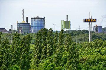 Duisburg Panorama 2 van