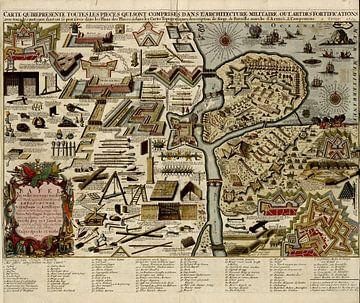 Festungen und Krieg der niederländischen Armee im Jahre 1703 von Atelier Liesjes