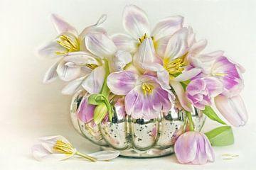 Flower Romantic - Tulips end von Lizzy Pe