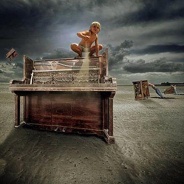 Piano Boy van Juliën van de Hoef