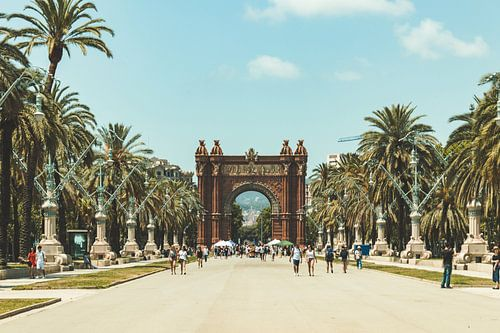 Arc de Triomf barcelona spanje von Dennis Kluytmans